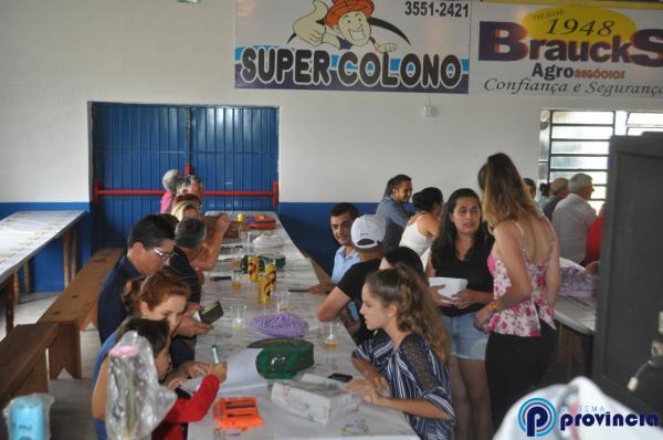 Festa na comunidade de Santa Fé