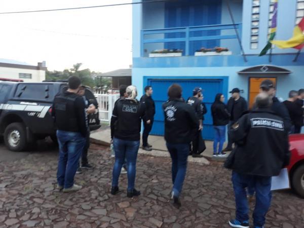Nova fase da Operação Android prende quatorze pessoas em Santo Augusto