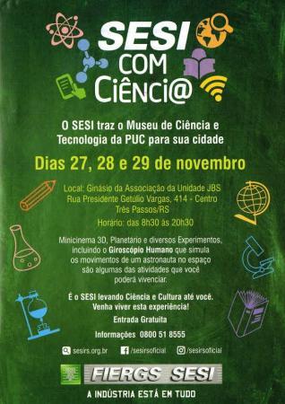 Museu Itinerante de Ciência e Tecnologia da PUC estará na Região Celeiro