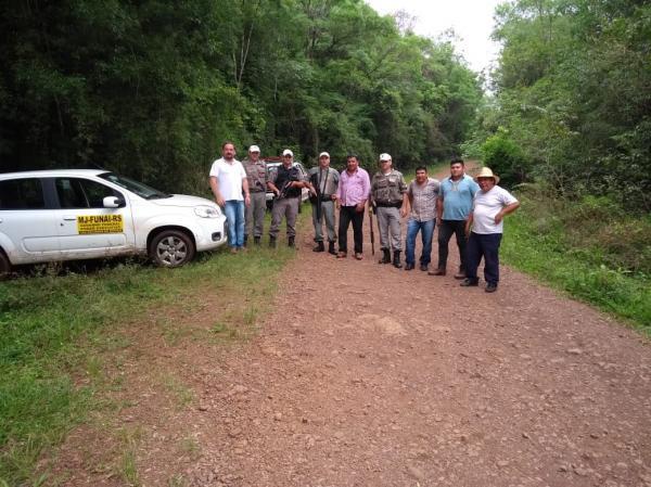 Operação conjunta combate o desmatamento na Terra Indígena do Guarita