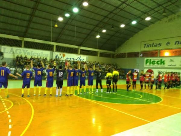 Definidas as duas semifinais da Copa Noroeste de Futsal 2018