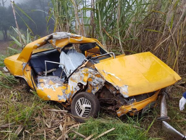 Motorista perde a vida em acidente na BR 386