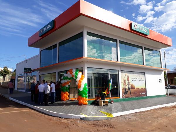 Miraguaí ganha nova unidade de atendimento do Sistema Cresol