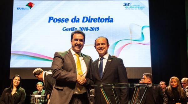 Prefeito de Garibaldi assume a presidência da FAMURS