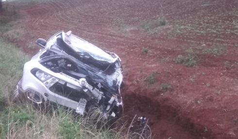 Colisão entre veículos provoca duas mortes na ERS 155 em Ijuí