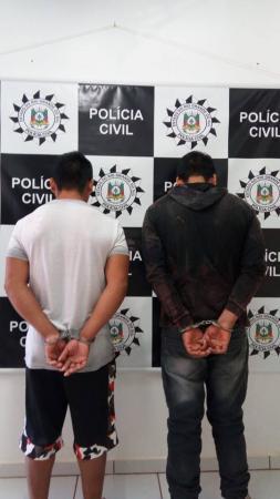 Cumprimento de mandados resulta em duas prisões em Tenente Portela