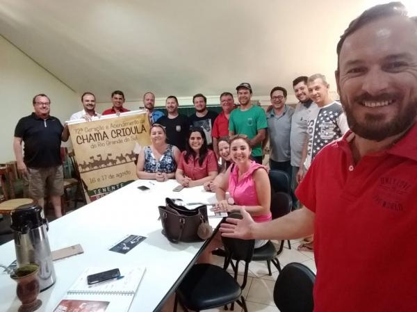 Definida comissão para Chama Crioula em Tenente Portela