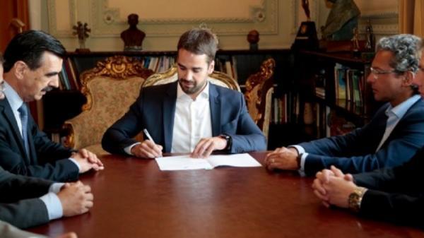Eduardo Leite sanciona Projeto de Lei que modifica a estrutura administrativa do governo do RS