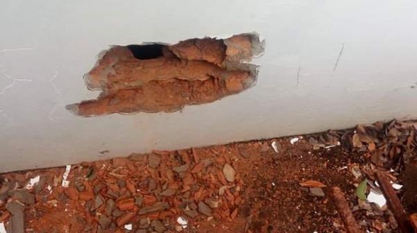 Alarme frustra roubo à agência do Banrisul no centro de Erval Seco