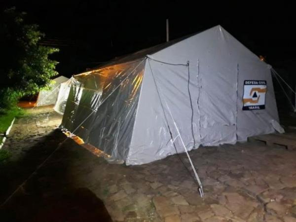 Defesa Civil Estadual contabiliza quase cinco mil pessoas fora de casa em razão das chuvas