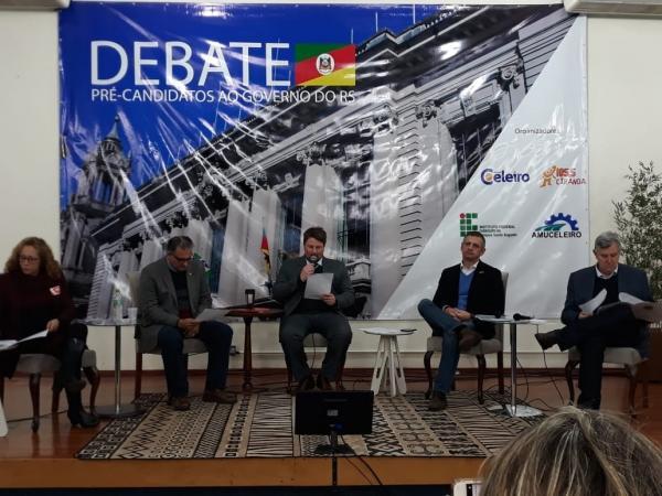 Pré-candidatos ao Palácio Piratini participaram de debate em Santo Augusto