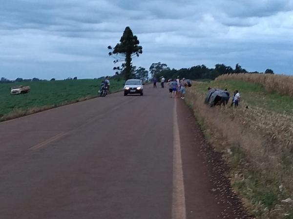 Acidente na rodovia 330 deixa quatro pessoas feridas