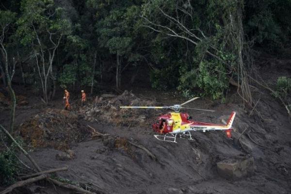 Bombeiros confirmam aumento do número de vítimas fatais na região de Brumadinho