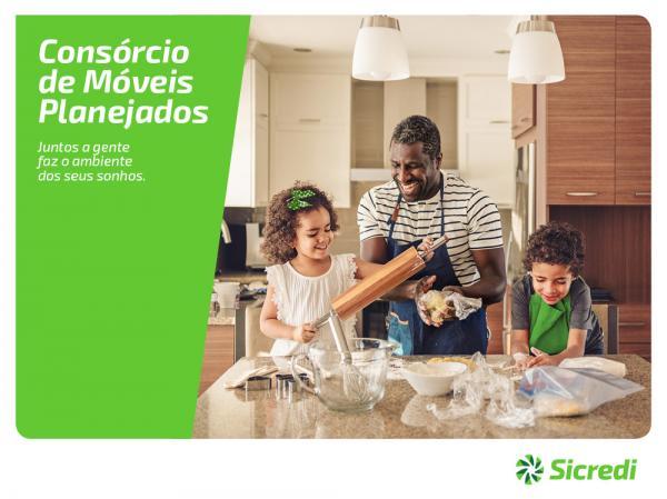 Sicredi lançou consórcio para móveis planejados