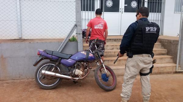 PRF apreende menor de idade com motocicleta adulterada em Seberi