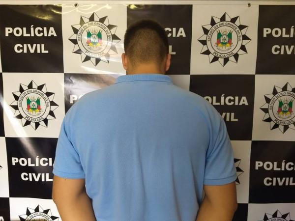 Jovem de 20 anos é preso por tráfico de drogas em Campo Novo
