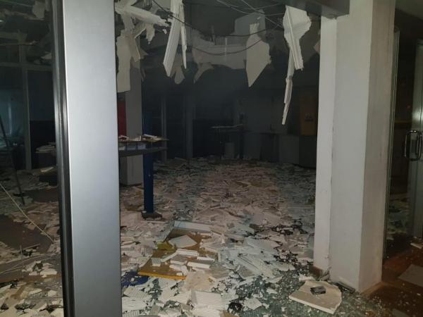 Criminosos atacam duas agências bancárias no centro de Ibirubá