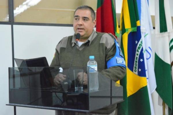 Morre Major Serafini, comandante da Brigada Militar em Palmeira das Missões
