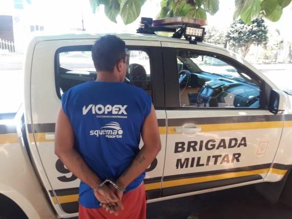 Homem é preso pela Brigada Militar em Independência