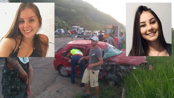 Duas garotas morrem em acidente envolvendo motorista bêbado em Santa Catarina