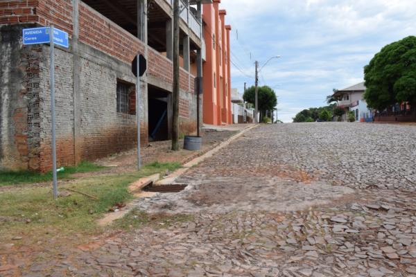 Tenente Portela: Três ruas ganharão camada asfáltica