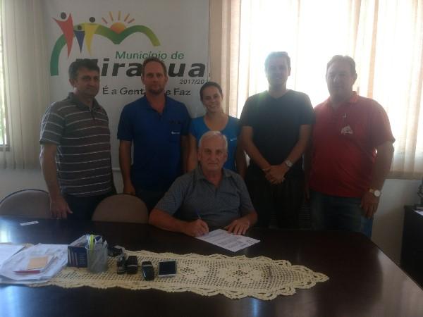 Miraguaí renova convênio de prestação de serviços com a Emater-Ascar
