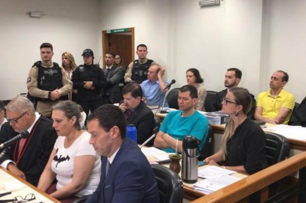 Primeiro dia de julgamento dos quatro acusados é dedicado aos testemunhos de delegadas