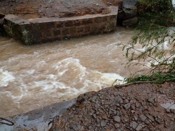 Três Passos registrou 350 milímetros de chuva em 12 dias do mês de março
