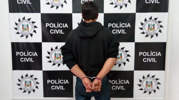 Polícia Civil de Tenente Portela prende indivíduo com participação em Latrocínio