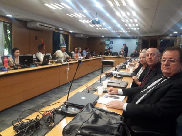Prefeitos e direção do HSA participam de reunião sobre saúde indígena