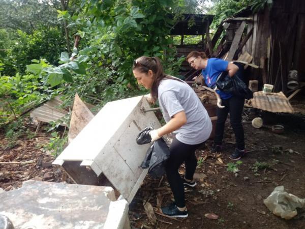 Tenente Portela: Mutirões de limpeza tentam evitar a presença do Aedes Aegypti