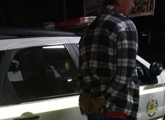 Brigada Militar prende foragido da Justiça em Barra do Guarita
