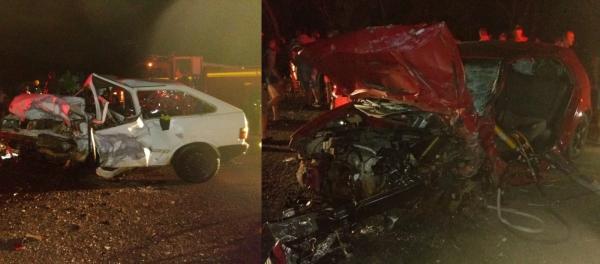 Colisão deixa um morto e três feridos em Novo Barreiro