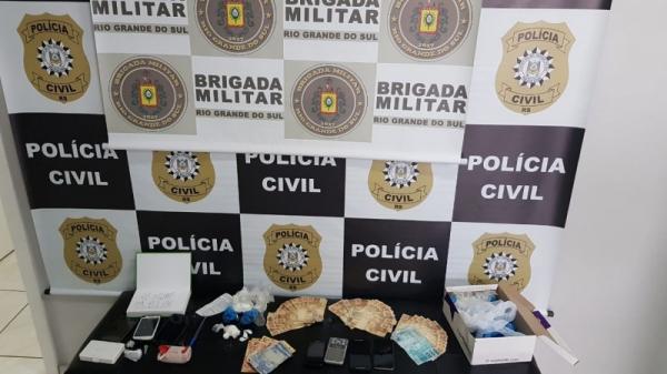 Operação policial desarticula comércio de drogas nas cidades de Seberi e Rodeio Bonito