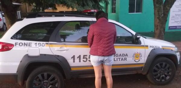 Brigada Militar prende foragida da justiça em Santo Augusto