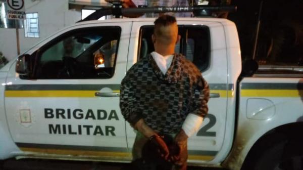 Bom Progresso: Briga em moradia resulta na prisão de foragido da Justiça
