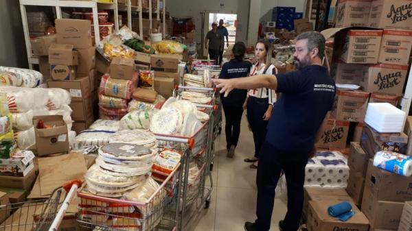 Três toneladas de produtos impróprios para consumo são apreendidas em Campo Novo