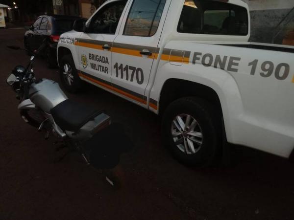 Operação Avante do 7º BPM fiscaliza veículos nas cidades de Miraguaí e Tenente Portela