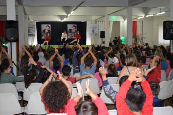 Evento em Tenente Portela celebra o Dia do Livro Infantil