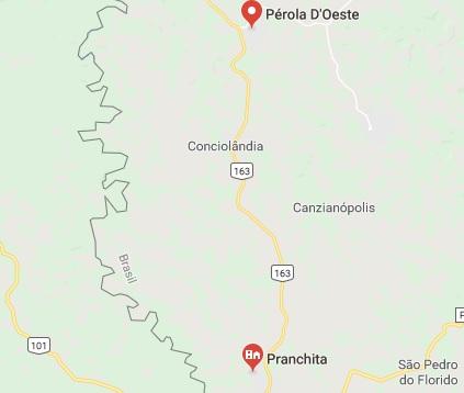 Ônibus que saiu de Campo Novo é assaltado no Oeste do Paraná