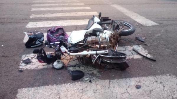 Motociclista de 18 anos morre em acidente em Ametista do Sul