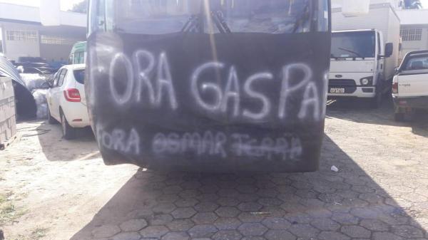 Grupo de indígenas do Guarita protestam contra coordenador da D-SEI