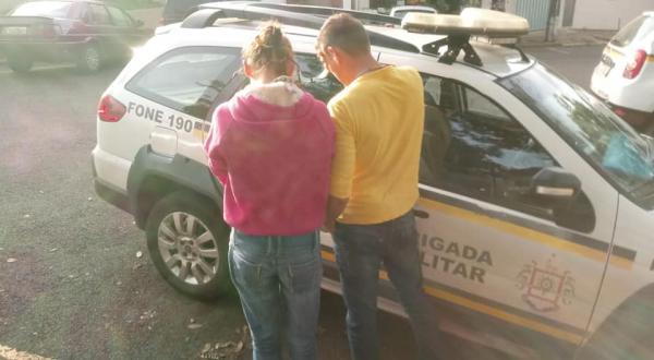 Casal é preso em Tenente Portela por crime de receptação