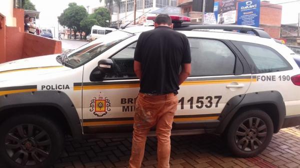 Brigada Militar prende procurado da Justiça em Tenente Portela