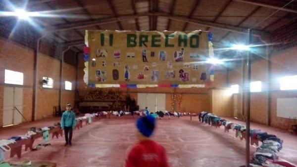 Turma de alunos realiza campanha  solidária em Vista Gaúcha