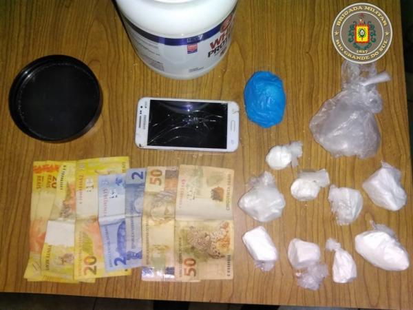 Homem é preso por tráfico de drogas no interior de Seberi