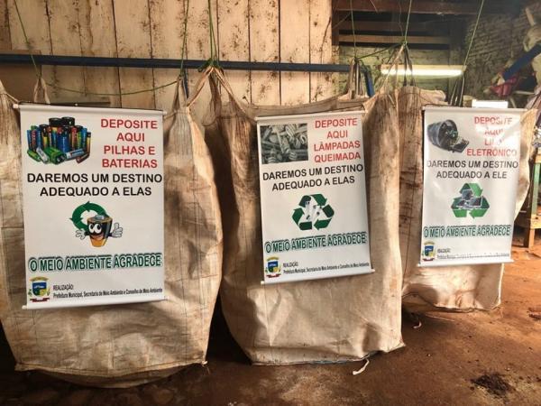 Coronel Bicaco implanta central de coleta de resíduos sólidos