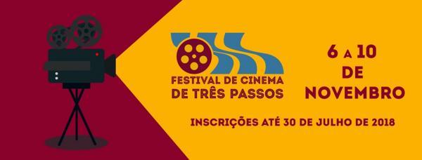 Últimos dias para a inscrição de curtas no 4º Festival de Cinema de Três Passos