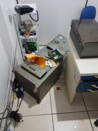 Miraguaí: Ladrões arrombam cofre e levam dinheiro de supermercado na Avenida Ijuí
