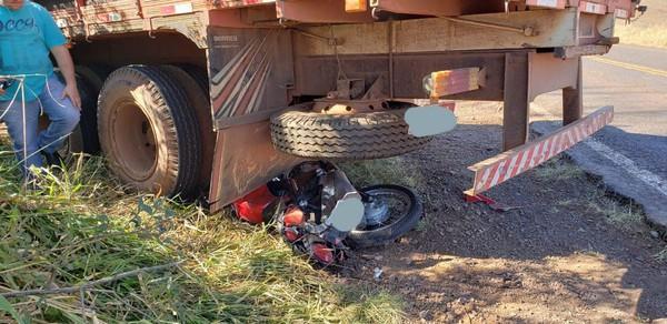 Motocicilsta morre em acidente na ERS-587, em Seberi
